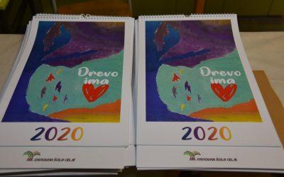 Izšel je prvi koledar učencev III. OŠ Celje za leto 2020