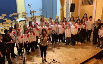 Pevci zapeli z Neisho
