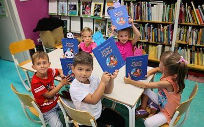 Prvošolci prvič v šolski knjižnici