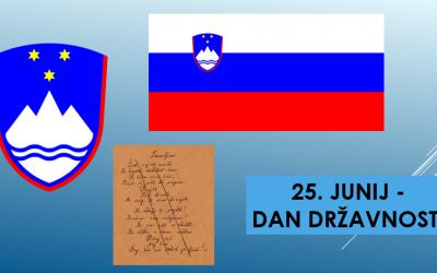 Spletna prireditev ob dnevu državnosti – 23. 6. 2021